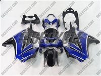 Ninja 250R Blue/Black Fairings