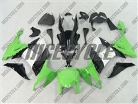 Kawasaki ZX10R Green/White Fairings