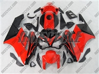 Honda CBR 1000RR Black/Red OEM Style Fairings