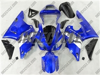 Yamaha YZF-R1 OEM White/Blue Fairings