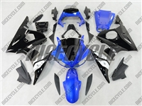 Yamaha YZF-R6 Blue/Black Fairings