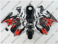 Honda CBR600 F3 OEM Style Red/Black Fairings