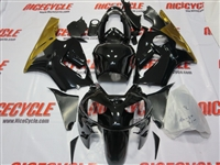Kawasaki ZX12R Black/Gold Fairings