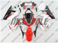 Yamaha YZF-R6 White/Red Fairings