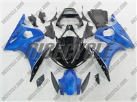 Yamaha YZF-R6 Blue Metallic Fairings
