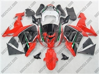 Kawasaki ZX10R Red/Black Fairings