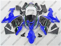Blue/Black Kawasaki ZX10R Fairings