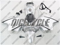 Honda VFR-800 Silver/White Fairings