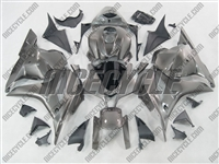 Silver Honda CBR600RR Motorcycle Fairings