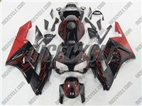 Honda CBR 1000RR Red Flames Fairings