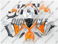 Honda CBR1000RR Orange/Silver Fairings