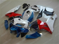 Honda CBR600RR Blue/Red/White Fairings