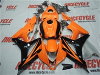 Honda CBR600RR Orange/Black Fairings