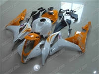 Honda CBR600RR Orange/White Fairings