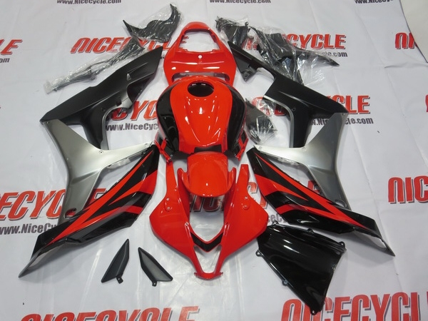 2007 2008 Honda Cbr 600rr Red Oem Style Fairings 3055 2