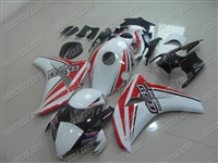 Honda CBR1000RR White/Red Race Fairings