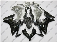 Honda CBR500R Gloss Black Fairings