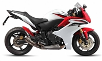 Honda CBR 600F White/Red Fairings