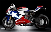 Ducati 1199/899 Panigale Nicky Hayden Star Style Fairings