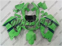Green Suzuki SRAD GSX-R 600 750 Fairings
