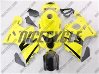 Yellow Suzuki GSX-R 600 750 Fairings