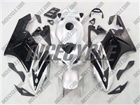 Honda CBR 1000RR Black/White Accents Fairings