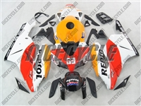 Honda CBR 1000RR White Repsol Race Fairings