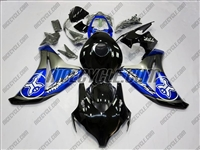 Honda CBR1000RR Silver/Blue Two Brothers Fairings
