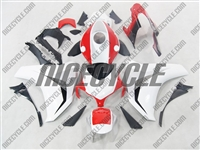Honda CBR1000RR White/Red Fairings