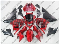 Kawasaki ZX10R Candy Red Fairings