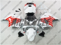 Honda VFR-800 Red/White Fairings
