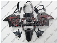 Candy Red Flame Honda VFR-800 Motorcycle Fairings