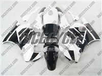 Honda CBR600 F2 White/Black Fairings