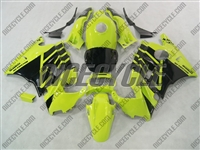 Honda CBR600 F2 Black on Yellow Fairings