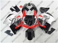Red/Black/Silver Suzuki SRAD GSX-R 600 750 Fairings