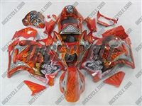 Suzuki GSX-R 1300 Hayabusa Custom Airbrush Fairings