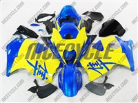 Suzuki GSX-R 1300 Hayabusa Yellow/Blue Fairings