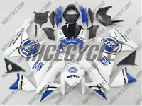 Suzuki GSX-R 600 750 Lucky Strike Blue Fairings