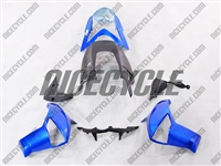 Kawasaki ER6n Blue/Black Fairings