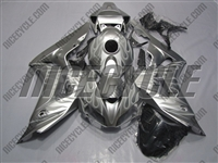 Honda CBR1000RR Silver Flamed Fairings