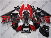 Honda CBR600 F3 Black/Red Fairings