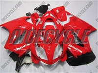 Red Honda VFR-800 Motorcycle Fairings