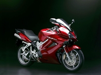 Honda VFR-800 Metallic Maroon Fairings