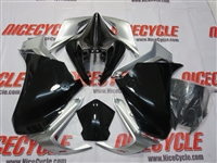Black Honda VFR 1200 Motorcycle Fairings