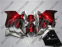 Honda VFR 1200 Candy Red/Silver Fairings