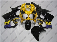 Purple/Yellow Honda CBR900RR Motorcycle Fairings