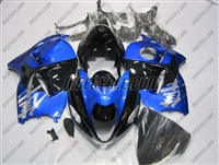 Suzuki GSX-R 1300 Hayabusa Metallic Blue/Black Fairings