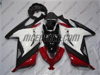Red/Black/White Kawasaki Ninja 300 Fairings