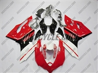 White/Red/Black Ducati 1199/899 Panigale Fairings