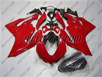 Solid Red Ducati 1199/899 Panigale Fairings